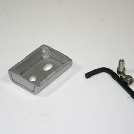 Mini-dovetail block (for Giro, AZtech & most EQMs)