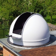 2.7m short height observatory dome (flat roof installation)