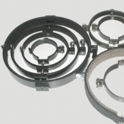 Tube mounting rings (pair)