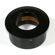 "Ultra low profile 1.25"" to 2"" eyepiece adaptor with filter thread"