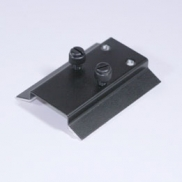 ScopeTeknix Universal mounting plate for finders with two hole mounting base