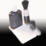 Four-piece optics cleaning kit