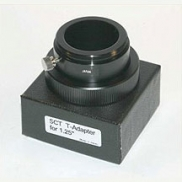 Eyepiece holder and camera adaptor to fit Meade SCT