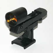 Red Spot LED finder with standard two hole base