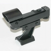 Red dot finder on quick release foot for Skywatcher, Helios and Orion scopes
