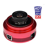 ZWO ASI120MC colour camera with Guide port
